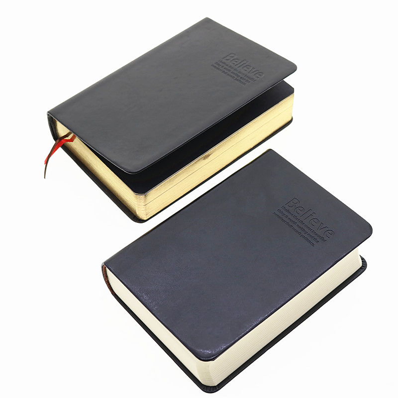 Vintage Thick Notebook Bible Diary Book Leather Agenda Zakka Caderno Escolar Stationery Office Material School Supplies 6658