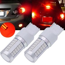 7440, 992, T20 Led Bulbs Red 900 Lumens Super Bright Turn Signals Light Brake Stop Parking Light Back Up Reverse Light Tail Li(China)