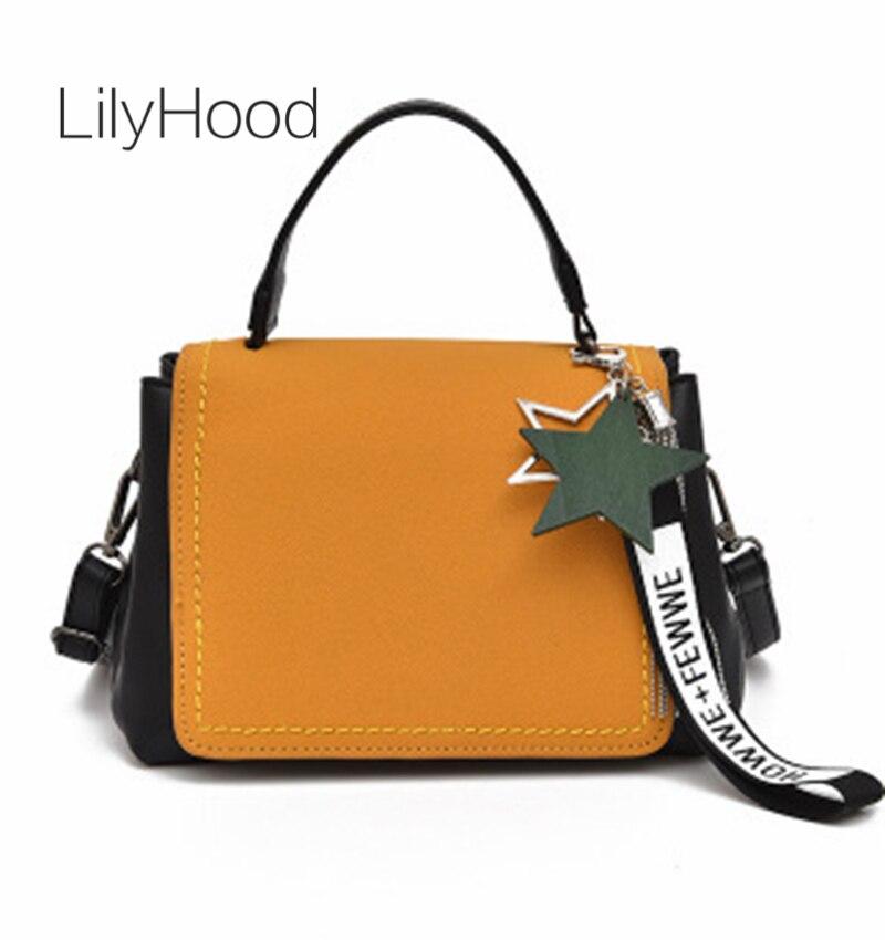 LilyHood 2017 Women Fashion Genuine Leather Shoulder Bag Female Preppy Trendy Fringe Real Leather Street Style Crossbody Bags