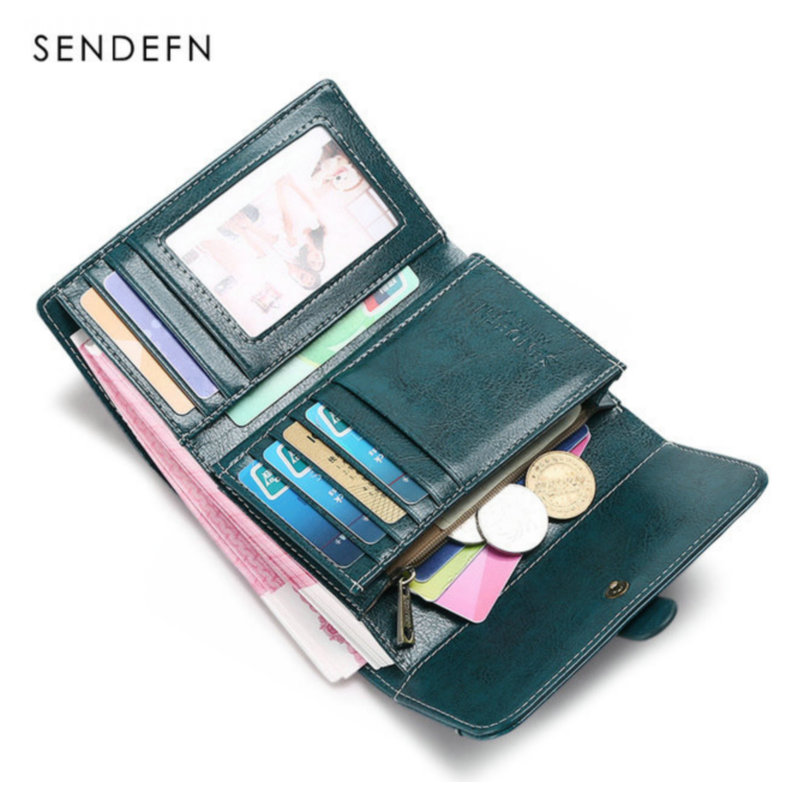 Fashion Small Split Leather Wallet Women Short Clutch Credit Card Holder Lady Change Coin Purse Zipper Hasp Money Bag New new 2017 pink hollow leaf short wallet women wallets small purse for girls credit id card holder money coin bag christmas gifts