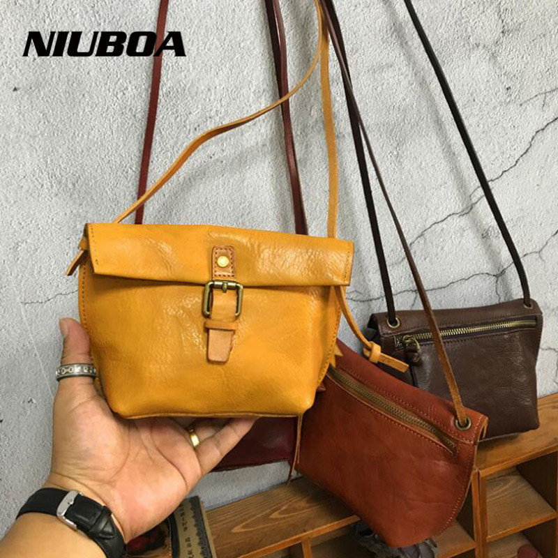 New Women Shoulder Crossbody Bag Genuine Leather Female Casual Shoulder Bags Mini Spring Hot Cowhide Lady Shopping Messenger Bag