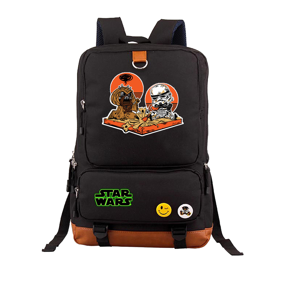 d37ac5f21b Star Wars backpack BB8 Darth vader cosplay casual backpack teenagers Men  women Student School Bags canvas Shoulder Bag Rucksack-in Backpacks from  Luggage ...
