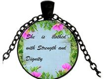 Buy She Is Clothed With Strength And Dignity And Get Free Shipping