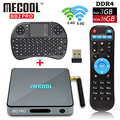 S912 BB2 Pro 3 GB 16 GB Amlogic Octa núcleo Android 6.0 Marshmallow Inteligente Caixa De TV WI-FI HDMI 4 K KDOI 17.0 Android TV Box + Teclado I8