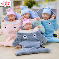 35 Cm Rabbit Plush Baby Doll Simulated Babies Sleep Children Toy Dolls Present For Babies 4
