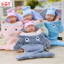 35 cm rabbit plush baby doll simulated babies sleep children toy dolls present for babies 4 colors pop reborn Baby sleeping gift
