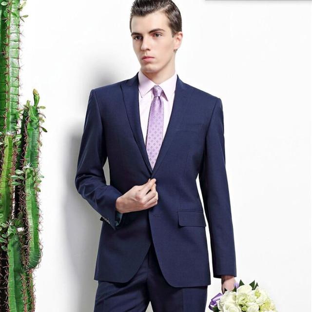 Homme En Costume homme en costume noir bleu hommes costume solide couleur revers