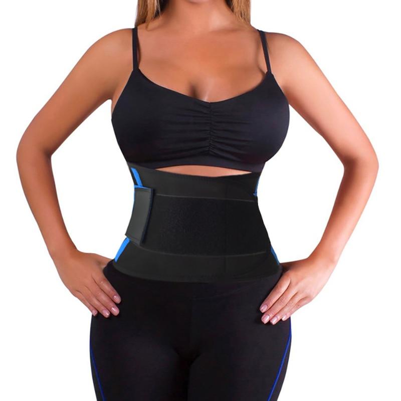 Corset Back Support Brace Men Women Sports Belt Pain Lumbar Support Belt Back Waist Belts Elastic Bandage Health Products Y123