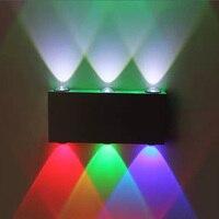 Modern Led Wall Lamp 6LED 6W Long Square AC85 265V For Living Room KTV Corridor Bar