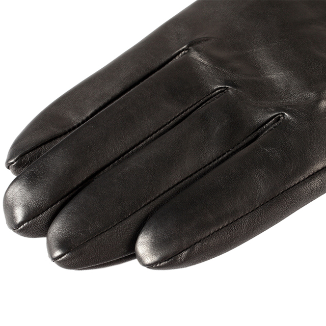 Warm Leather Gloves for Men