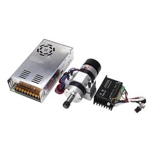 Image 5 - 高速 500 ワットブラシレス ER11 スピンドルモータ + 55 ミリメートルクランプブラケット + 電源 + ドライバー CNC ルータ工作機械