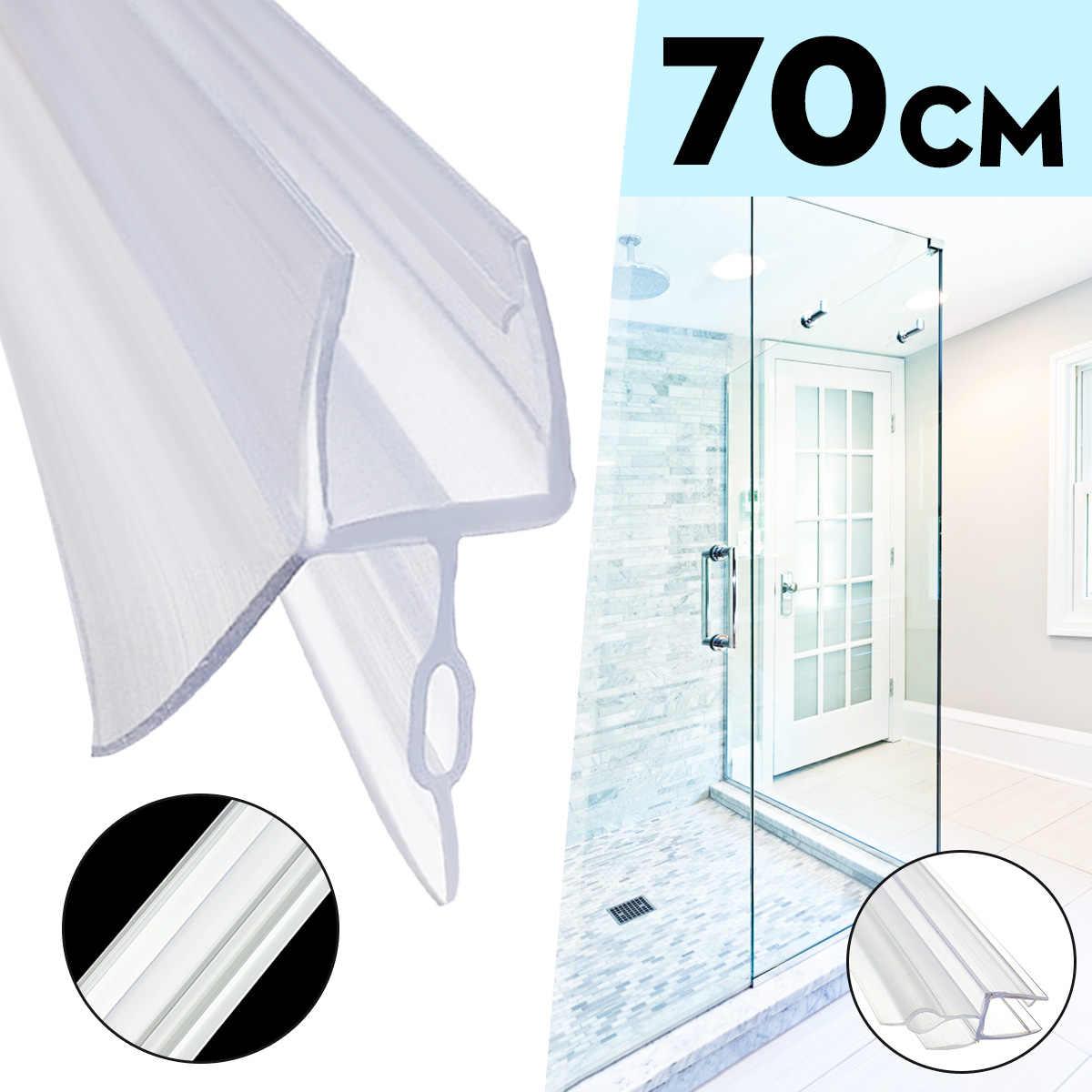 25pcs 70cm 4 6mm Bath Shower Screen Door Sealing Strip For