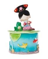 Китайский Стиль Принцессы Просмотр Рыбы Высокое Качество Ручной Росписью Банки Хранения Смола Ремесла Творческий Туризм Подарок Сувенир