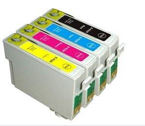 2 комплекта 92N T0921N-T0924N совместимый чернильный картридж для EPSON Stylus C91/CX4300/T27/T26/T27/TX106/TX109/TX117 принтера
