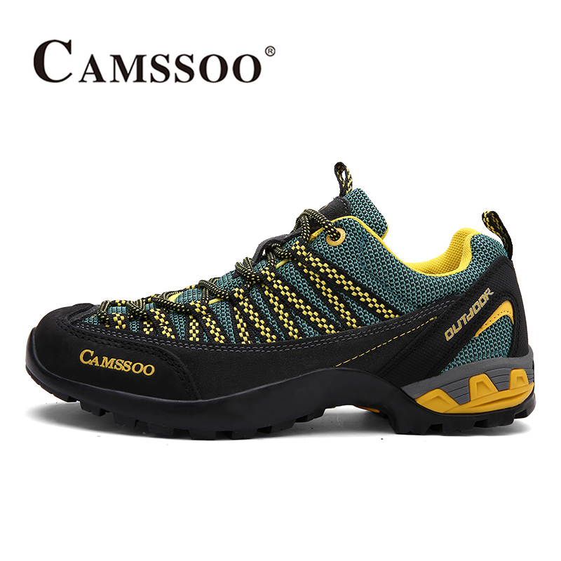2017 Camssoo Womens Hiking Shoes Warmth Breathable Outdoor Camping Mountaineering Sports Shoes For Female Free Shipping 3092 yin qi shi man winter outdoor shoes hiking camping trip high top hiking boots cow leather durable female plush warm outdoor boot