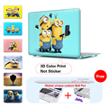 Minions Selfie Matte Case For Apple macbook Air 11 Air 13 Pro 13 Pro 15'' laptop bag For Mac book Retina 11 12 13 15 13.3 inch