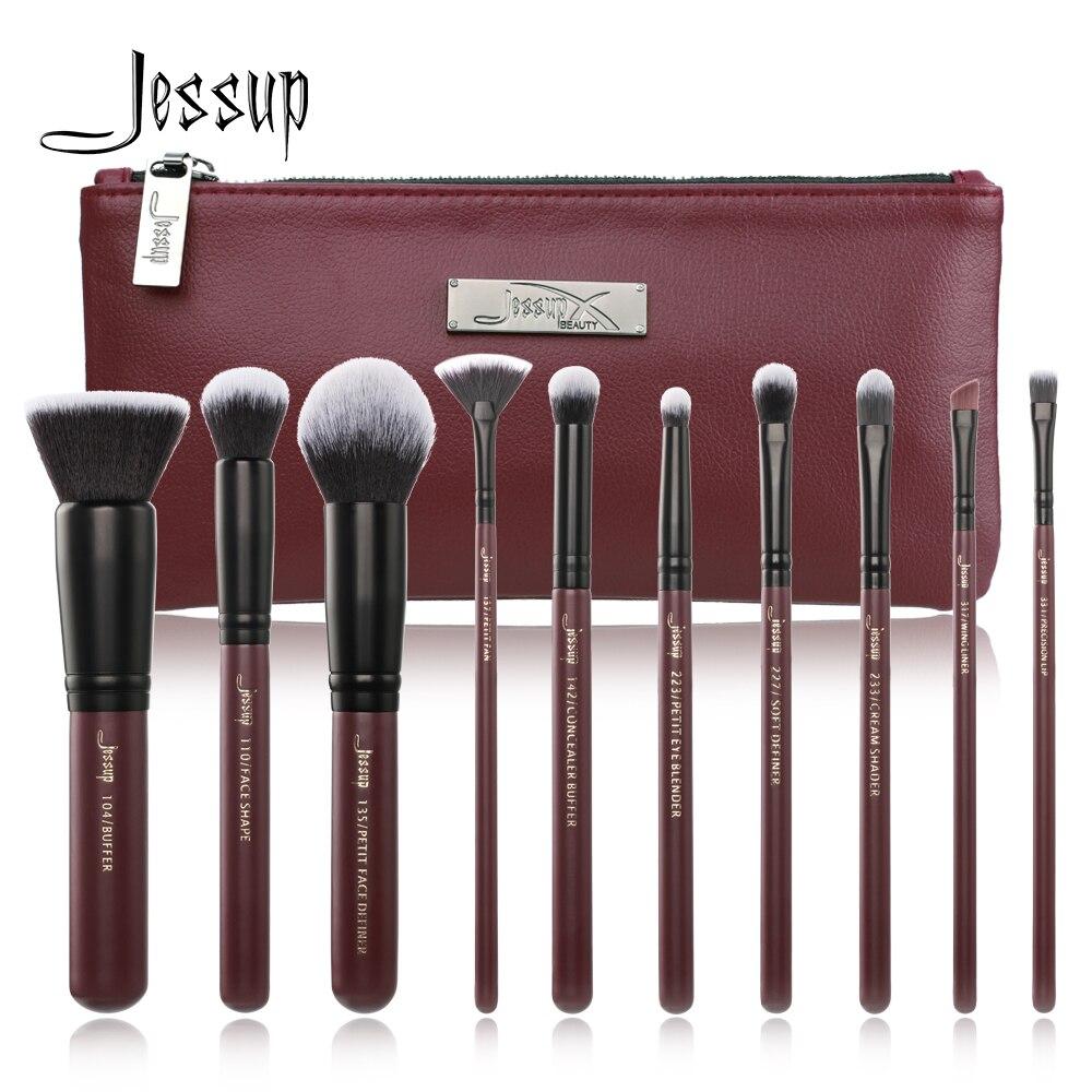 2018 New Jessup Makeup Brushes Set Summer pincel maquiagem profissional completa eyelash ...