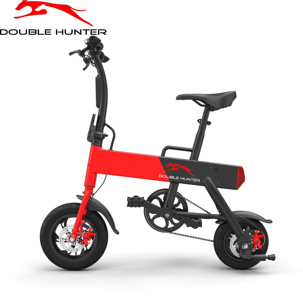 Electric Bicycle DOUBLE HUNTER P12+  bike motorcycle electromoped motor scooters 2 7kg 250w brushless gear hub rear motor for electric bike