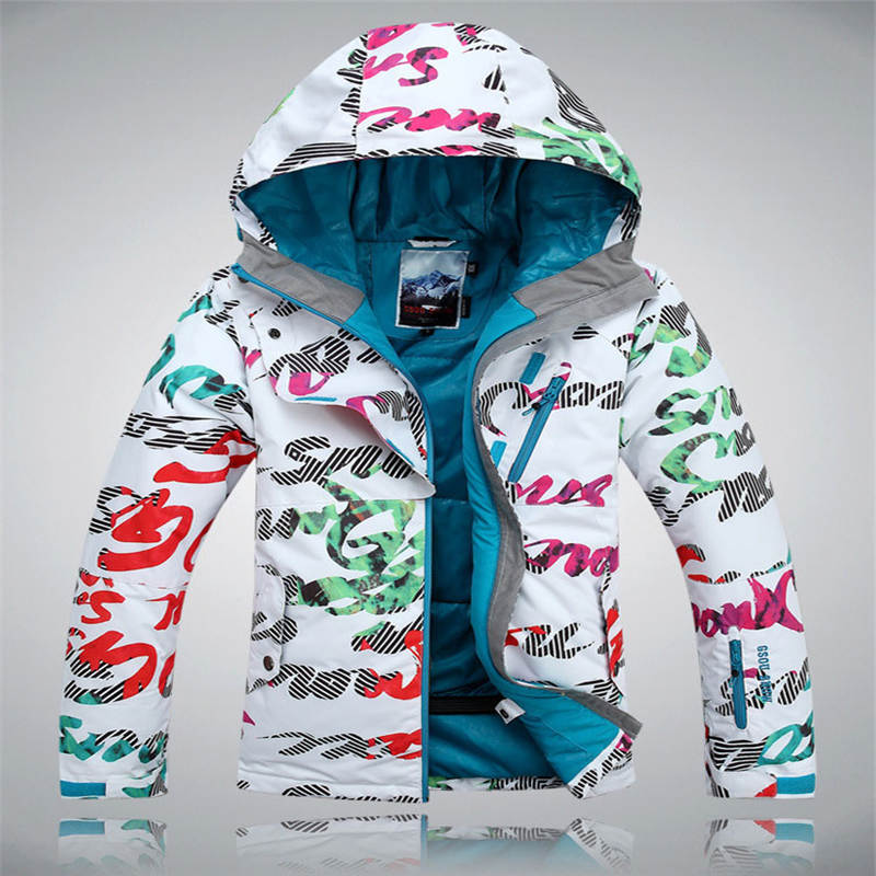white letter Gsou Snow woman Ski jackets 10K Waterproof Windproof warm Snowboarding jacket outdoor Snow coat winter female top woman snow pants outdoor sports snowboarding ski pant 10k waterproof windproof thicken warm winter snow trousers gsou snow