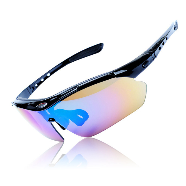 088057b7641 5 Lens Polarization fishing cycling glasses sunglasses bicicleta Glass MTB  Mountain Bike Sunglass gafas ciclismo cycling eyewear
