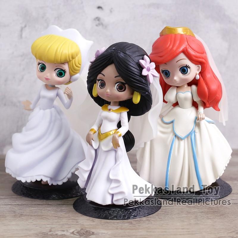 Q Posket Princess The Little Mermaid Ariel Cinderella Jasmine ...