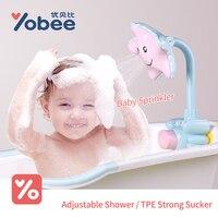 Bath Toys SeaStar Cartoon Baby Body Water Spray Bathroom Infant Shower Bath Fountain Water Playing Beach