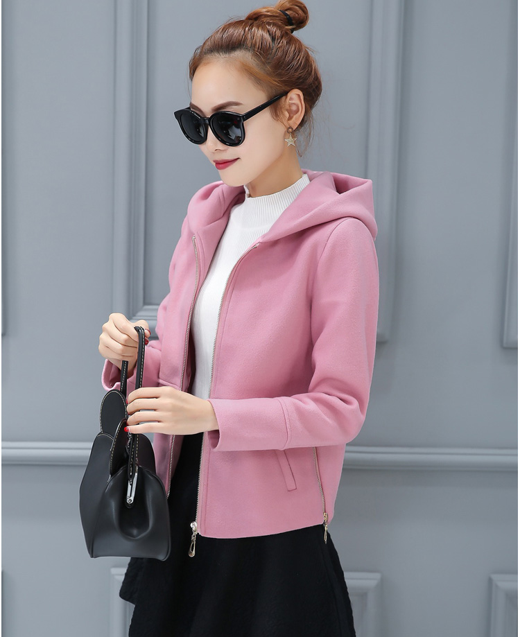pink Slim Clothing Casual red yellow Jackets blue New Women Europe 2018 Fashion Winter Coats Female W174 Gray Autumn Temperament vqHUn8x4