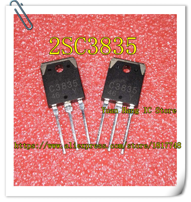 Free shipping 5pcs/lot C3835 2SC3835 TO-3P nebulizer dedicated transistor new 2sd718 d718 to 3p