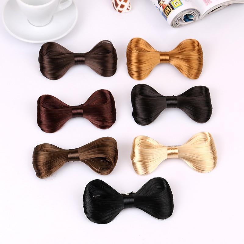 TS Nouvelle Mode Big Bow Ties Perruque Épingle À Cheveux Arc Clips Femmes Filles Cheveux accessoires