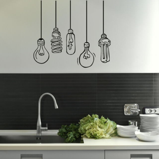Online get cheap kitchen wall mural for Cheap wall mural decals