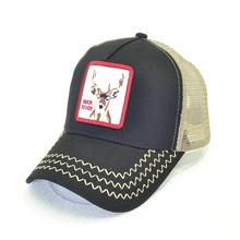 Fashion Baseball Cap For Men Women Summer Mesh Embroidery deer Trucker caps Snapback Hip Hop Hat Casual Casquette Bones new fashion brand casquette trucker hater snapback unisex leather baseball caps cappelli snapback hip hop hat for men women
