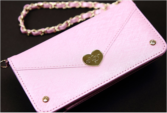 Make UP Mirror Wallet Case For iphone 6 6s Lady Make Up Mirror Case For iphone 7 Metal Chain For iphone 8 PU Leather Bag Women