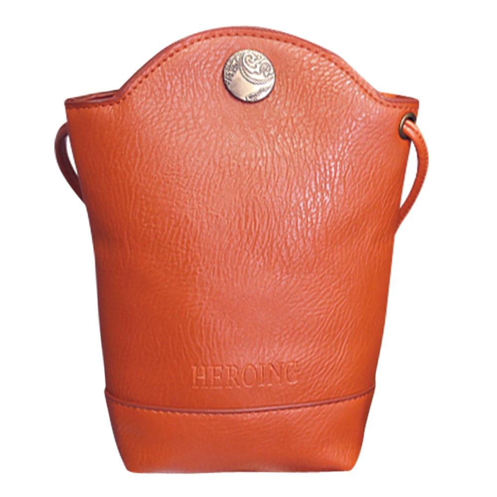 c5ebf30163 Solid Color Women Messenger Bags Women Leather Handbags Phone Bag Simple  Crossbody Sling Shoulder Bags Handbags bolsa feminina