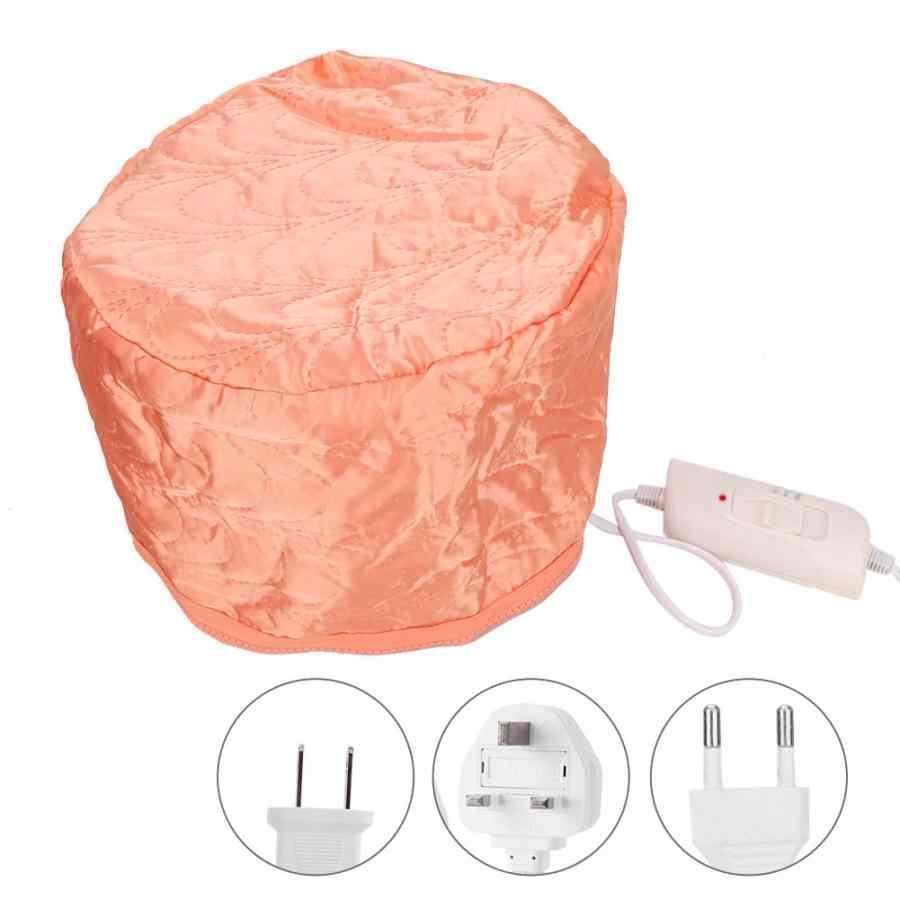 Elettrico Capelli Cap Piroscafo 3 Ingranaggi di Temperatura di Riscaldamento Regolabile Cap Cura Dei Capelli Attrezzo di Bellezza SPA Trattamento Termico Nutriente Hat
