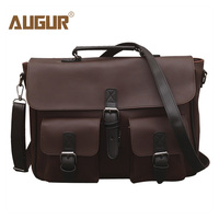 Augur Pu Leather Men Business Crossbody Shoulder Bag Handbag Causal Large Capacity Men's Bag Bolsos Mujer De Marca Famosa 2018