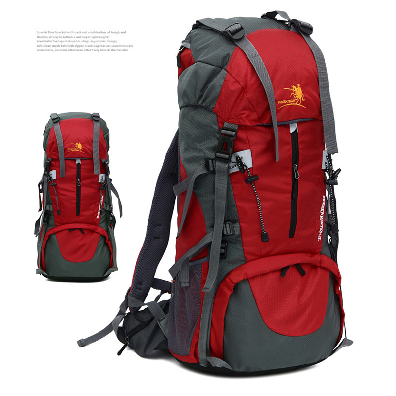 Outdoor Camping Hiking Bag Camping Climbing Bag Folding Backpack Waterproof Outdoor Backpack 70L