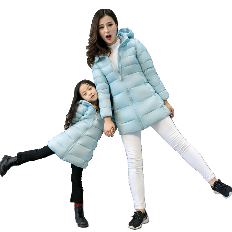 European Winter Women Parkas Down Coats Jacket Lady Warm Outerwear Slim Overcoat LF4185
