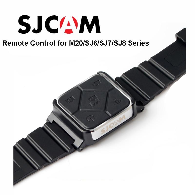 Original SJCAM SJ6 Accessories Remote Control Watch WiFi Wrist Band For SJ CAM M20 SJ6 LEGEND SJ7 Star SJ8 Series Action Camera
