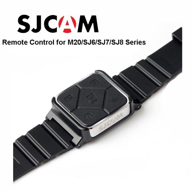Original SJCAM SJ6 Acessórios Controle Remoto Wi-fi Relógio de Pulso Banda Para SJ CAM M20 SJ6 LENDA SJ7 Estrela SJ8 Series câmera de ação