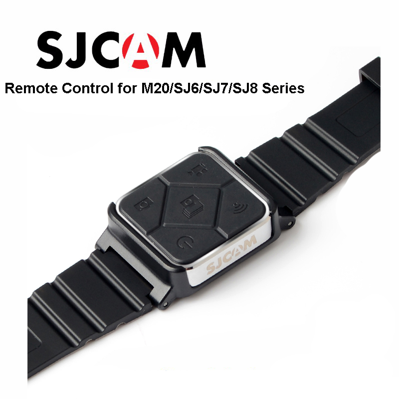 Original SJCAM SJ6 accesorios Control remoto reloj WiFi banda para SJ CAM M20 SJ6 leyenda SJ7 estrella SJ8 serie cámara de Acción