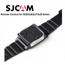 Oryginalny SJCAM SJ6 akcesoria pilot zegarek WiFi opaska na rękę dla SJ CAM M20 SJ6 legenda SJ7 gwiazda SJ8 seria kamera akcji