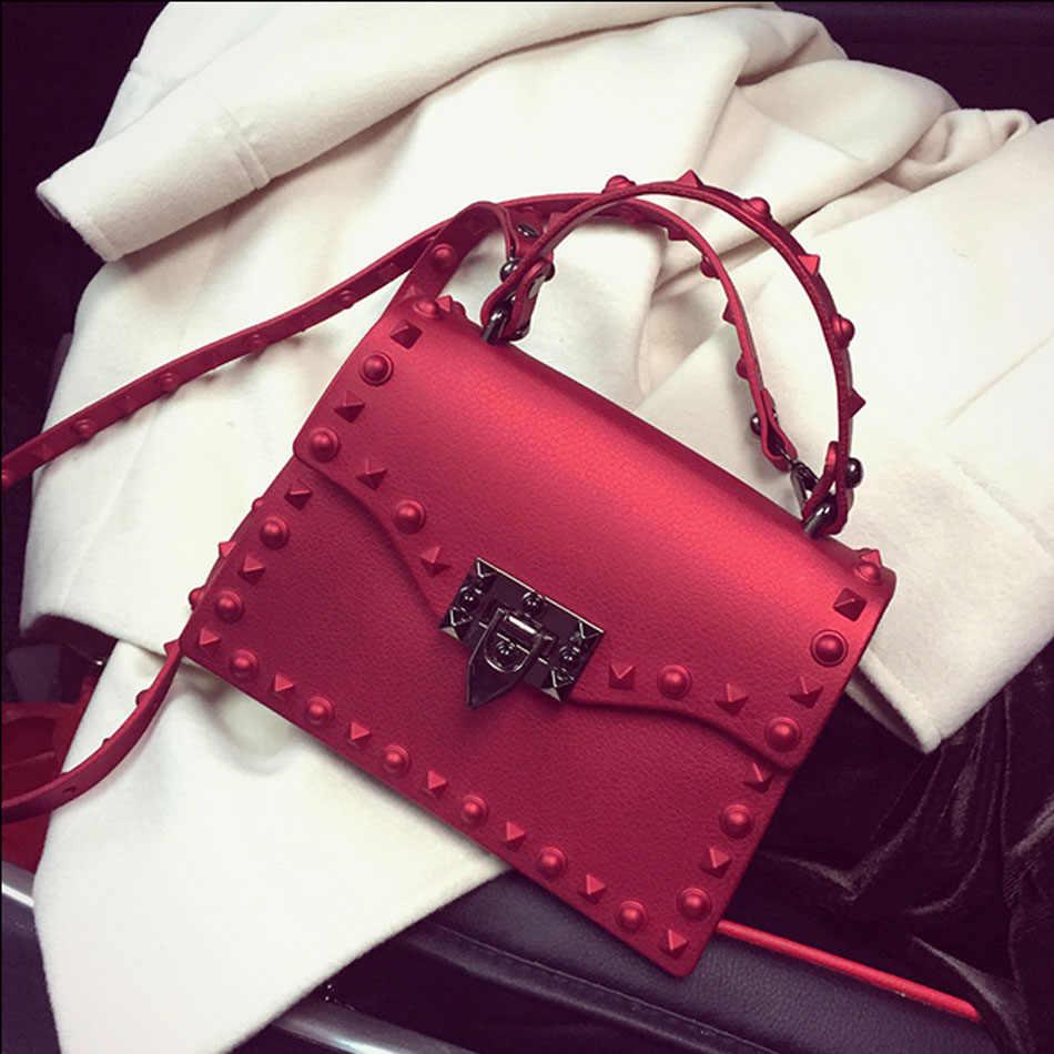 7f5ba2682699 ... SUNNY BEACH Brand Luxury Handbags Women Bag Matte Jelly Bag Designer  Lady Purse Bolsa Female Messenger ...