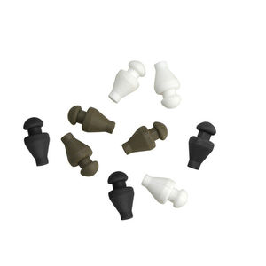 Image 2 - 24 pièces tir à larc en caoutchouc pointes de flèche pointes de Points cibles têtes larges ajustement 6mm flèches pour tir pratique cibles accessoires