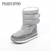 2016 Winter Women S Snow Boots 8 Color Warm Waterproof Wedge Boot Cotton Inline Winter Shoes