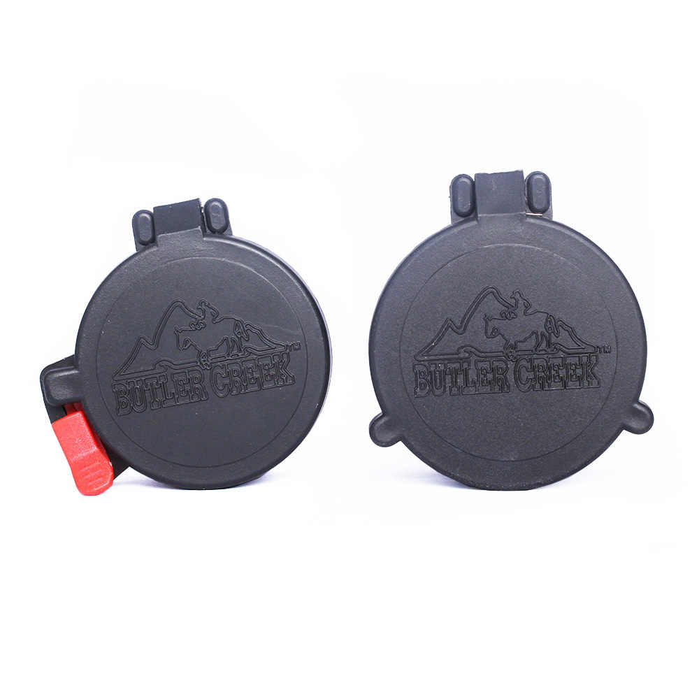 SPINA OPTICS Riflescope Accessoires Elastische Scope Lens Protector Flip Open Lens Covers Fit Voor 40mm 50mm Scope sight