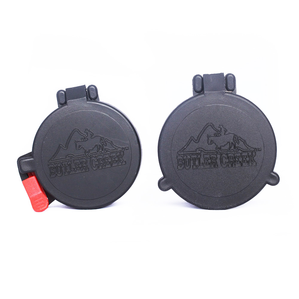 SPINA OPTICS Riflescope Accessories Elastic Scope Lens Protector Flip-Open Lens Covers Fit For 40mm 50mm Scope Sight