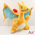 Wholesale 5pcs/Lot 27Cm Japanese Anime Pokemon Plush Toys Charizard Plush Doll Charizard Rare Rigure Soft Stuffed Toy Doll Gift