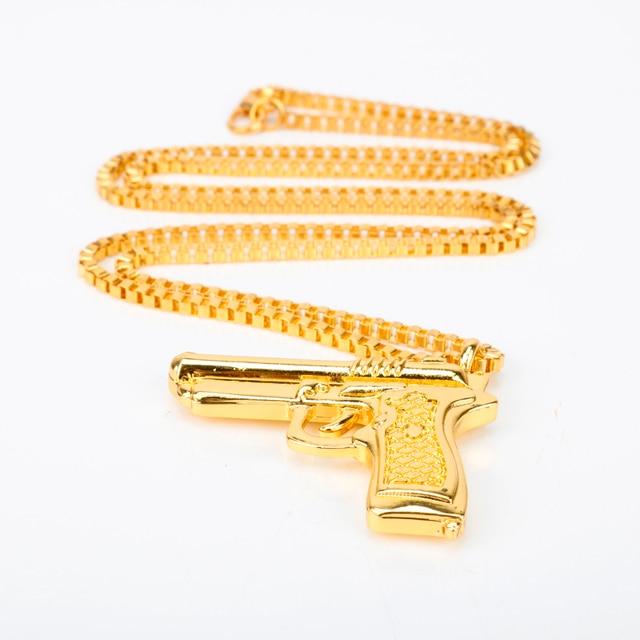 Pistol Pendants Necklace 10