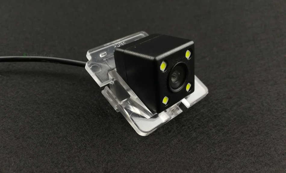 Caméra arrière de Vision nocturne de voiture CCD Fisheye Parking étanche pour Mitsubishi Outlander 2003 2004 2005 2006 2007 2008 2009 2012