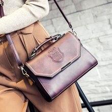 Vintage postman sac à main femmes célèbre marque haut-poignée sacs rétro en cuir PU épaule bandoulière sac de mode bolsas Louis 2016(China (Mainland))